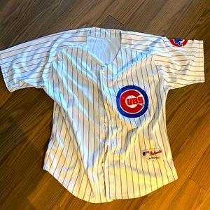 Chicago Cubs Blank Jersey